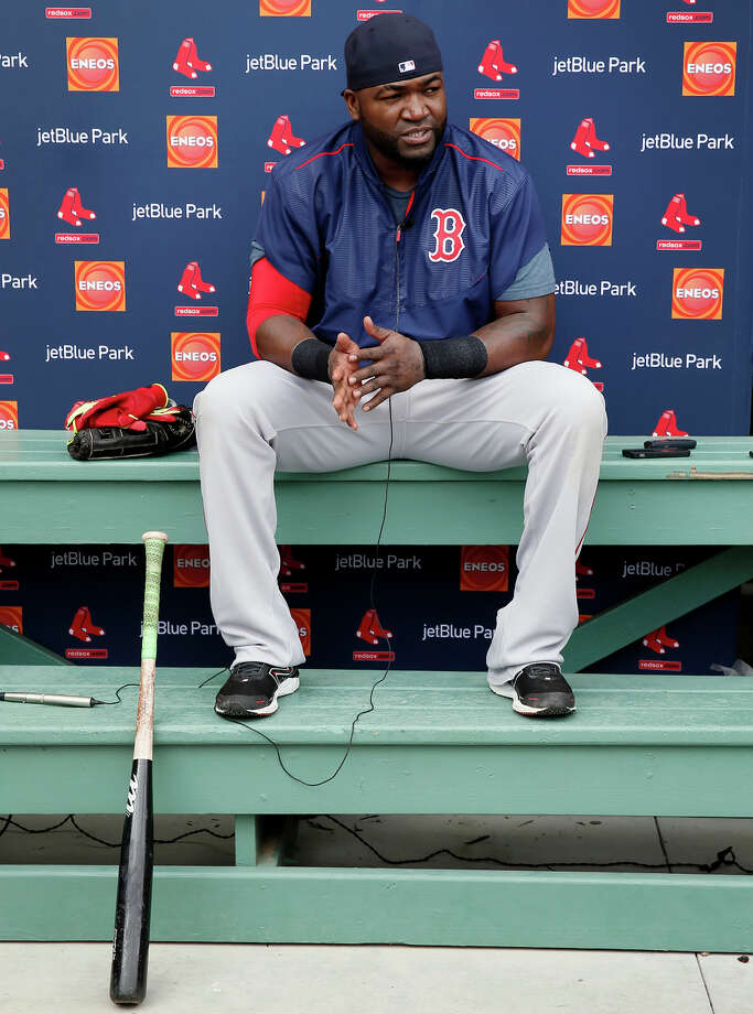 Boston designated hitter David Ortiz made it clear that he does his thinking outside the batter's box. Photo: Tony Gutierrez / Associated Press / AP