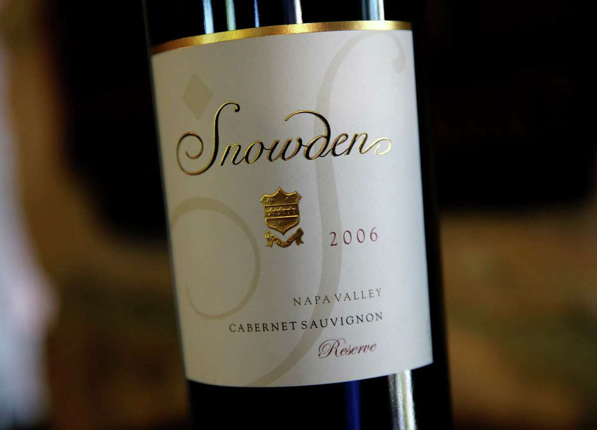 A detail of the Snowden label. Diana Snowden Seysses is Napa, Calif. born and raised. She now splits her time between the Burgundy region of France where she makes Burgundy with her husband and her family vineyards where she makes Cabernets.