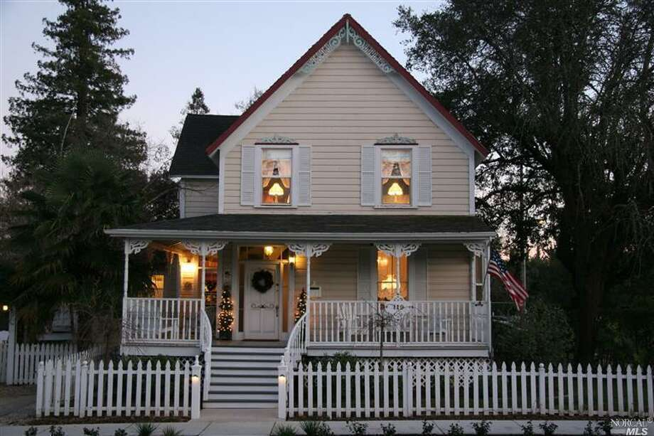119 W. Third Street, Cloverdale: The charming property, originally built in 1879, is listed for $749,000. Photo: NORCALMLS, Redfin