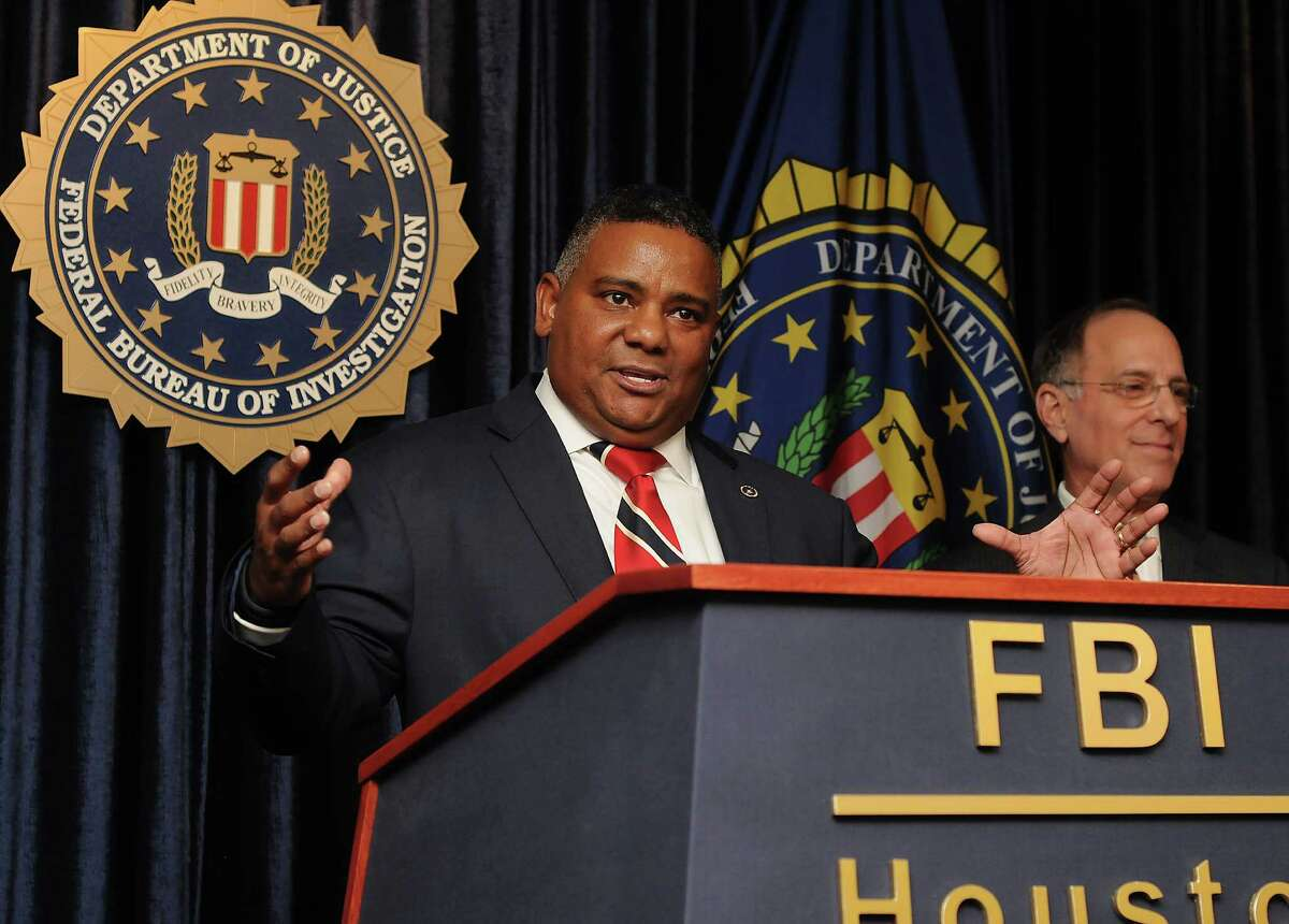 Houston FBI Special Agent in Charge Perrye K. Turner stresses that