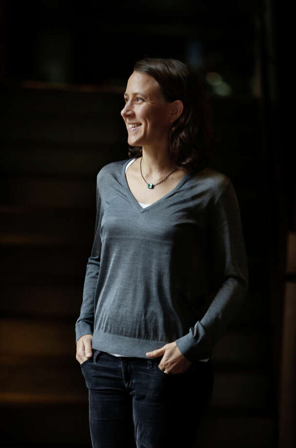 Anne Wojcicki, of 23andMe, says people must take control  of their health care decisions. The genetic testing offered  by her company can help, she insists. Photo: Lea Suzuki / The Chronicle / ONLINE_YES