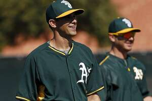 Brad Mills to start A's exhibition opener - Photo