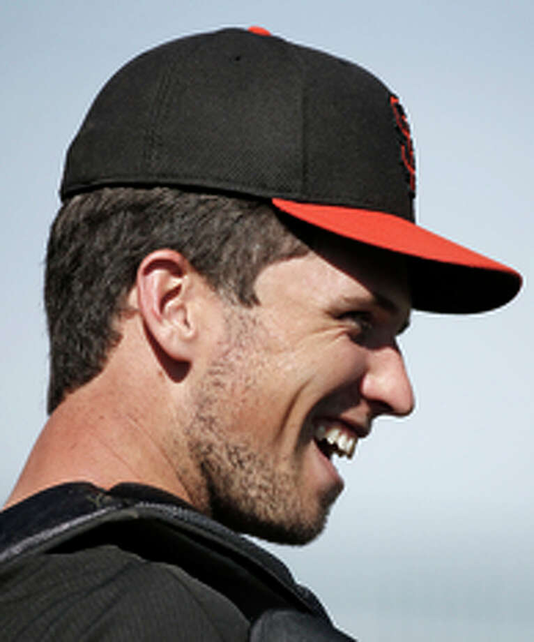 Catcher Buster Posey is the player the Giants can't do without. Photo: Scott Strazzante / The Chronicle / ONLINE_YES