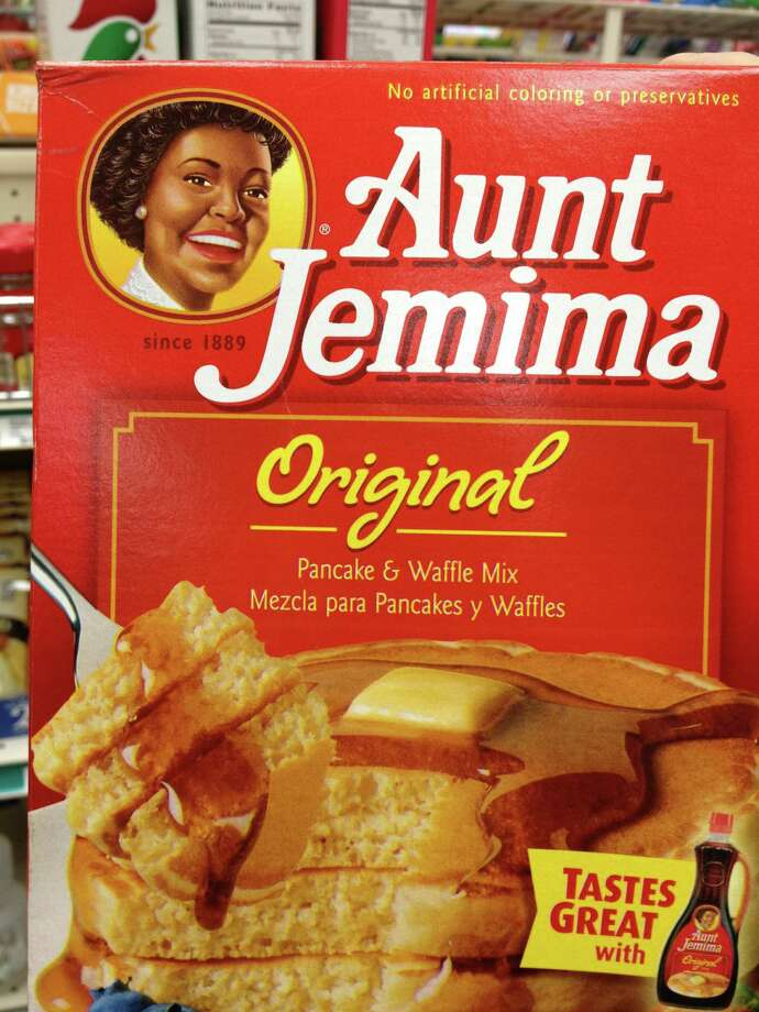 "Aunt Jemima no longer has the look of a stereotypical ""mammy."" Photo: Joe Holley / Houston Chronicle"
