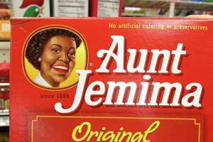 """Aunt Jemima no longer has the look of a stereotypical """"mammy."""""""