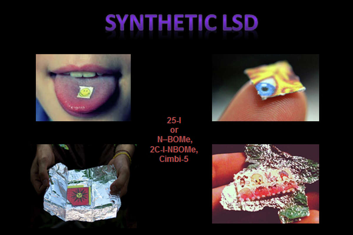 Synthetic LSD is also known as N-Bomb.