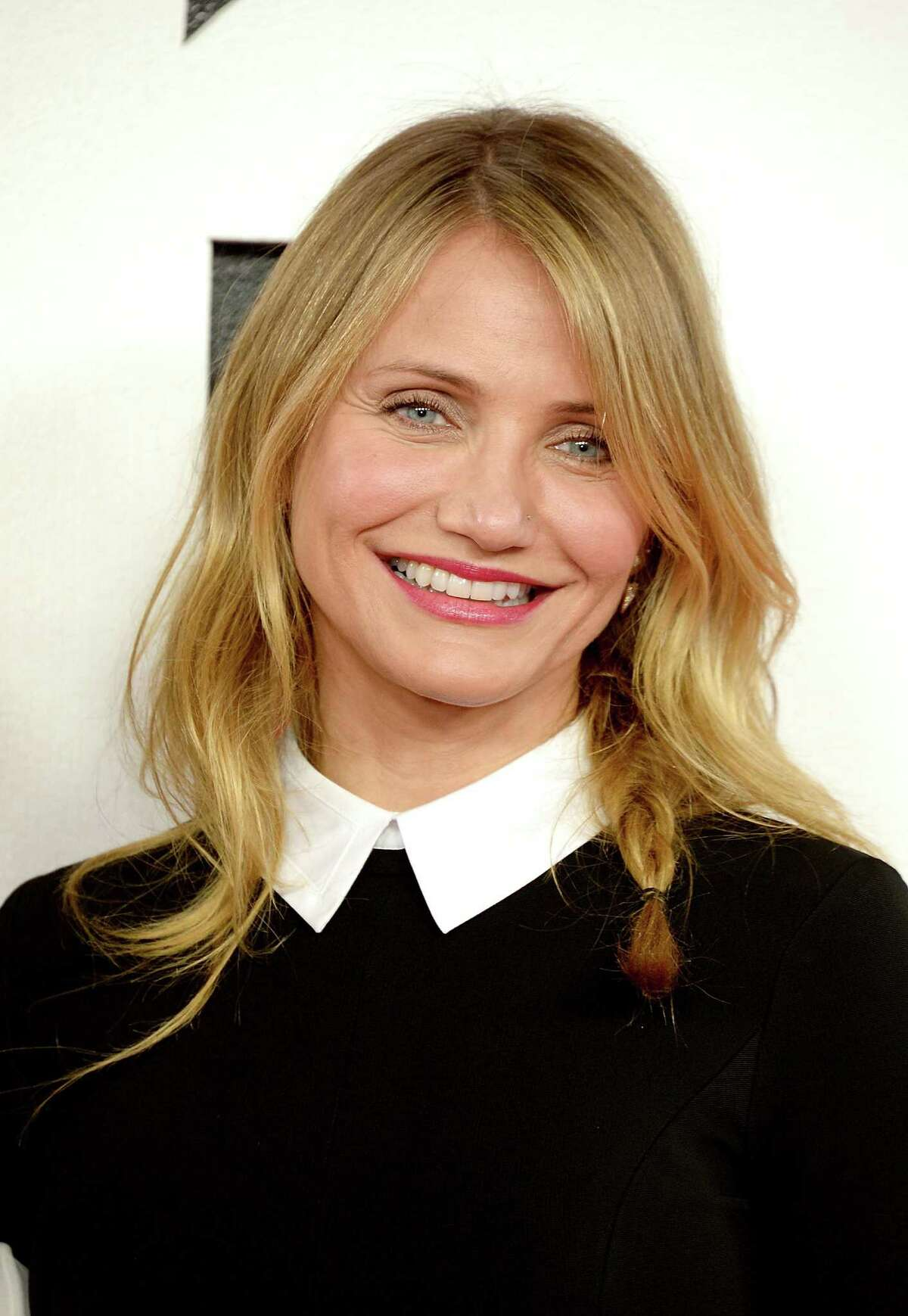 Here's Cameron Diaz, 42, as she appeared Dec. 16, 2014 in London.