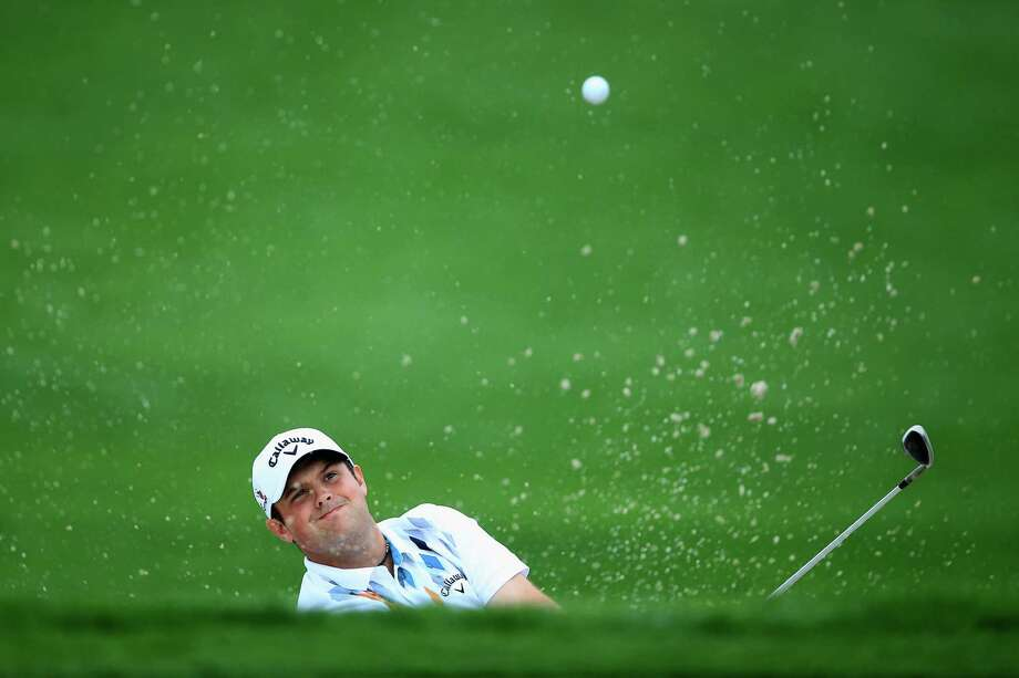 Patrick Reed, the second-round leader, plays his third shot on the 4th hole out of a bunker during the second round of the Honda Classic at PGA National Resort & Spa in Palm Beach Gardens, Fla. Photo: David Cannon / Getty Images / 2015 Getty Images