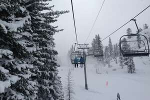 Storm drops welcome snow on Sierra resorts - Photo