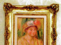Greenwich collector Richard McKenzie Jr.claims in a lawsuit that this painting is a forged Renoir sold to him by New York art dealer Robert Fishko for $389,539. McKenzie also claims Fishko sold him fake Rodin and Barlach sculptures.
