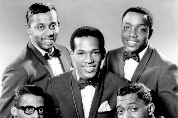 "The Temptations had a big hit with ""My Girl."" Otis Williams, bottom right, is the last living band member. The others were, clockwise from bottom left, David Ruffin, Melvin Franklin, Paul Williams, and in the center, Eddie Kendricks."