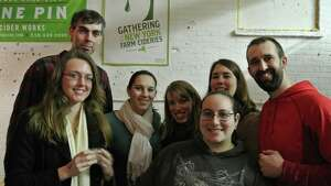 Were you Seen at the first anniversary party and Gathering of the Farm Cideries event at Nine Pin Cider in Albany on Saturday, Feb. 28, 2015?