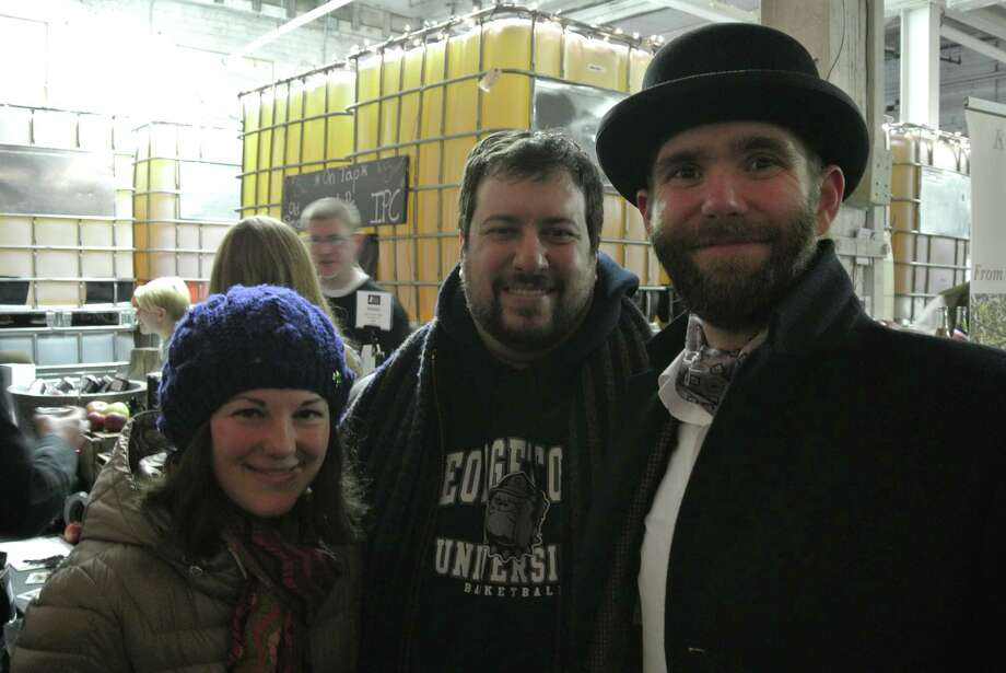 Were you Seen at the first anniversary party and Gathering of the Farm Cideries event at Nine Pin Cider in Albany on Saturday, Feb. 28, 2015? Photo: Deanna Fox