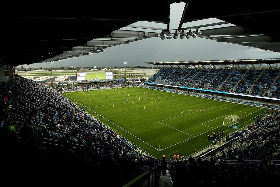 during an MLS friendly match at Avaya Stadium, Saturday, Feb. 28, 2015, in San Jose, Calif. Photo: Santiago Mejia, The Chronicle