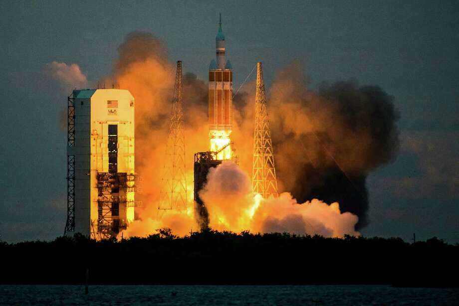 NASA launched its Orion spacecraft in 2014.  Photo: Smiley N. Pool, Staff / © 2014  Houston Chronicle