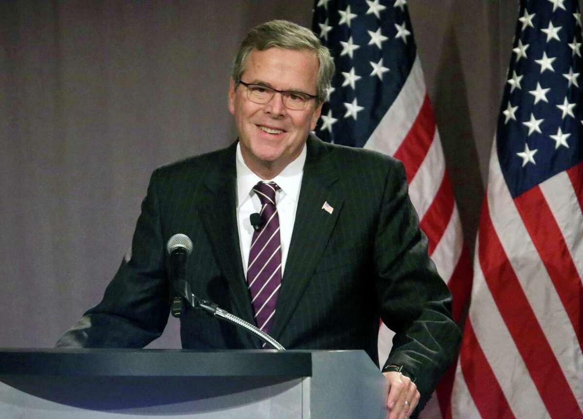 Ex-Florida Gov. Jeb Bush has the fundraising edge.