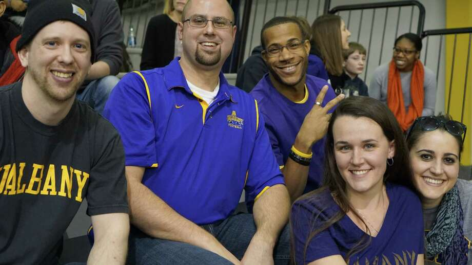 Were you Seen at the UAlbany men's basketball game vs. the University of Vermont at SEFCU Arena in Albany on Saturday, Feb. 28, 2015? Photo: Rebecca Landcastle