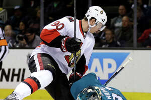 Sharks' home skid continues with loss to Ottawa - Photo