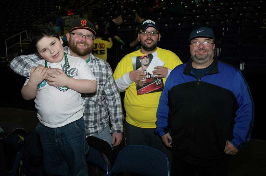 Webster Bank Arena in Bridgeport presented WWE Live Road to WrestleMania on February 28, 2015. Were you SEEN? Photo: Efrain Tirado