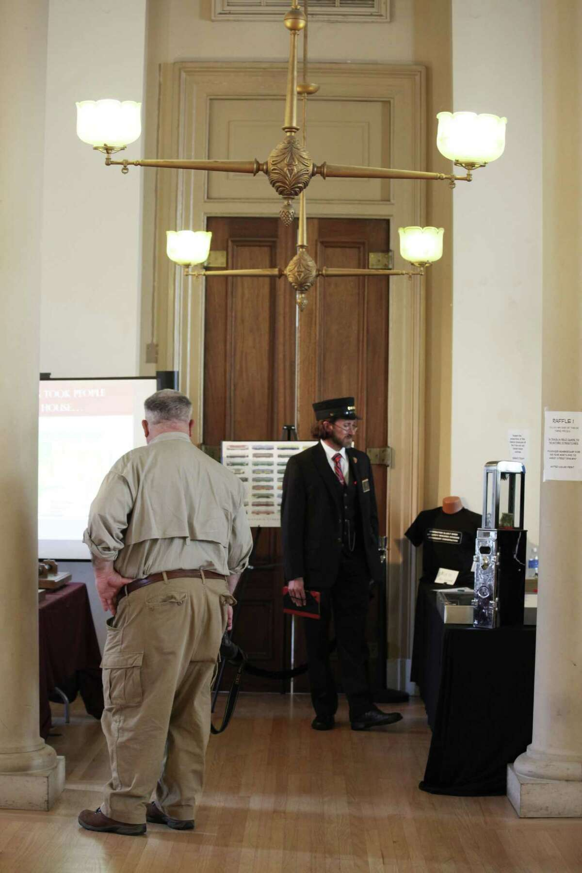 The SF History Expo in the Old Mint.