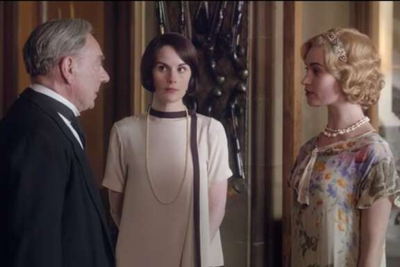 Triumph! Rose's scheme worked gloriously: Now her father-in-law adores her and that uppity butler will have to be nice to Tom. See what great skills she acquired, living at Downton?
