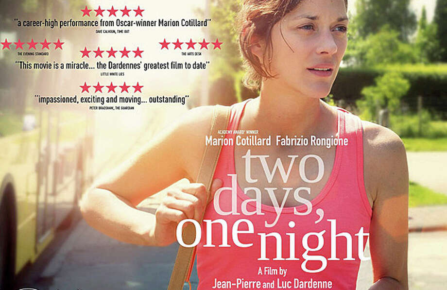 "Marion Cotillard was nominated for the Academy Awards' Best Actress Oscar this year for her performance in ""Two Days, One Night."" Photo: Contributed Photo / Westport News"