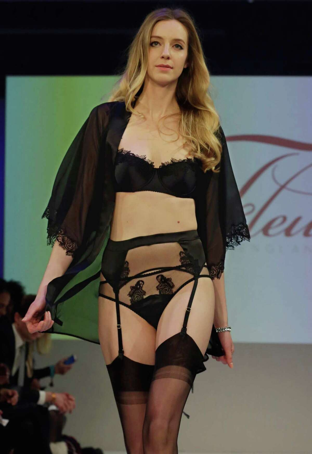 The 2015 CURVExpo and Invista sleepwear, loungewear and swim collections are modeled during the 2nd annual Lingerie Fashion Night,