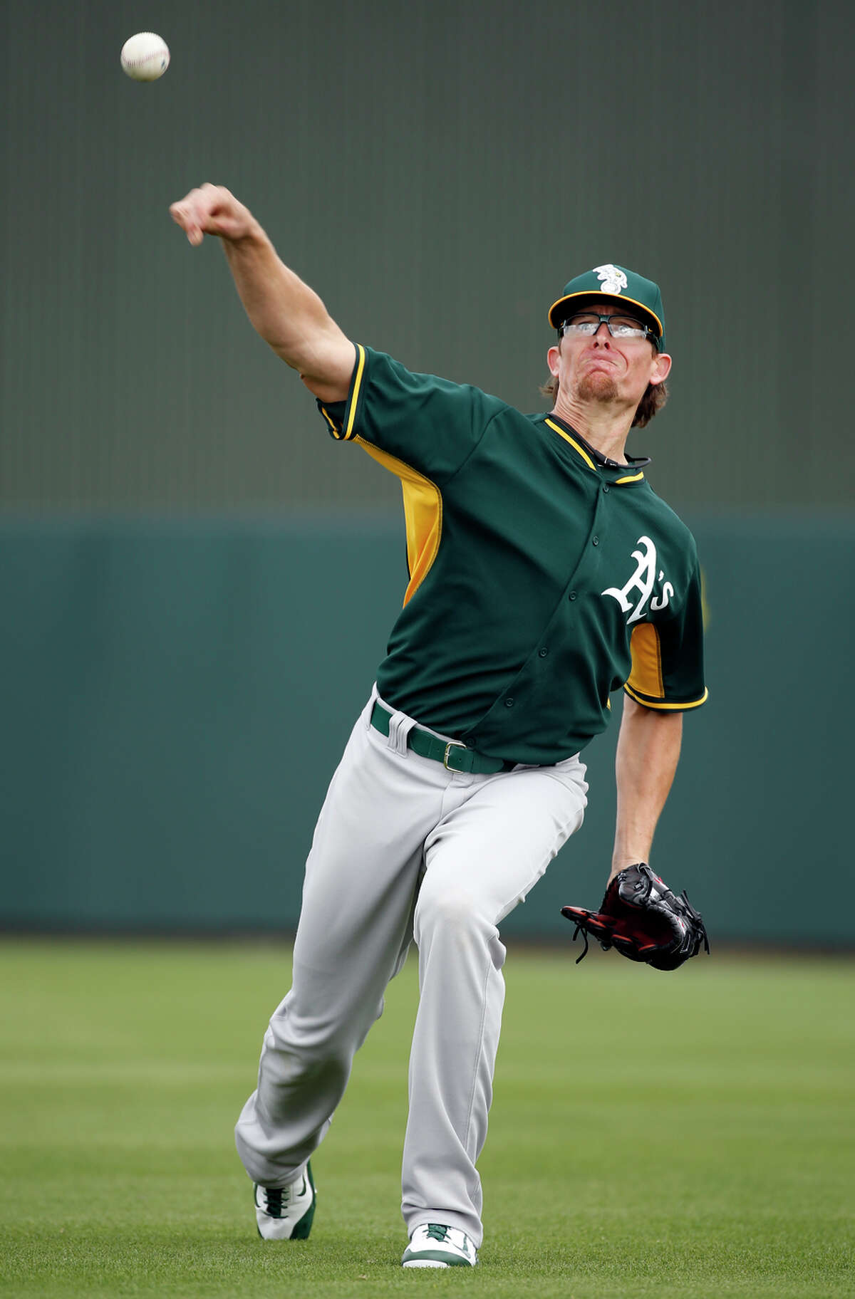 Tyler Clippard is in line for closer duties with the A's early in the season with incumbent Sean Doolittle out.