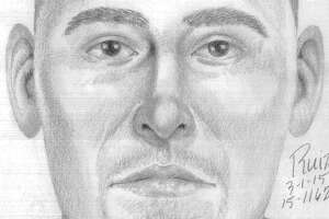 Sketch of man suspected of exposing self to girl in Palo Alto - Photo
