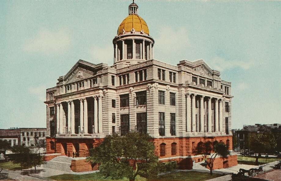 The Harris County 1910 courthouse.