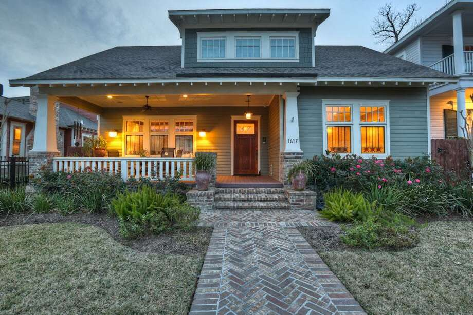 Bungalows in the Heights1617 Columbia: $1,399,000 / 4 bedrooms / 3 full and 1 half bathrooms / 4,216 square feet Photo: Houston Association Of Realtors