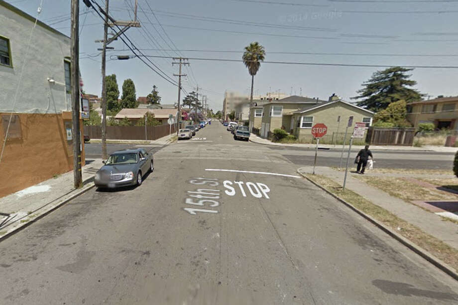 15th Street and Bissell Avenue, Richmond, CA Photo: Google Maps