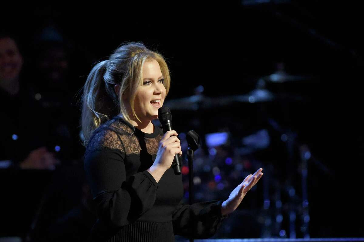 Amy Schumer performs onstage at Comedy Central Night Of Too Many Stars at Beacon Theatre on Saturday. Schumer will star in her first movie this year.