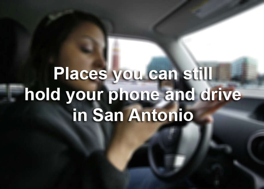 Incorporated suburbs of San Antonio have their own driving ordinances, see which ones still allow texting while driving. Photo: Elaine Thompson, AP Photo/Elaine Thompson / AP