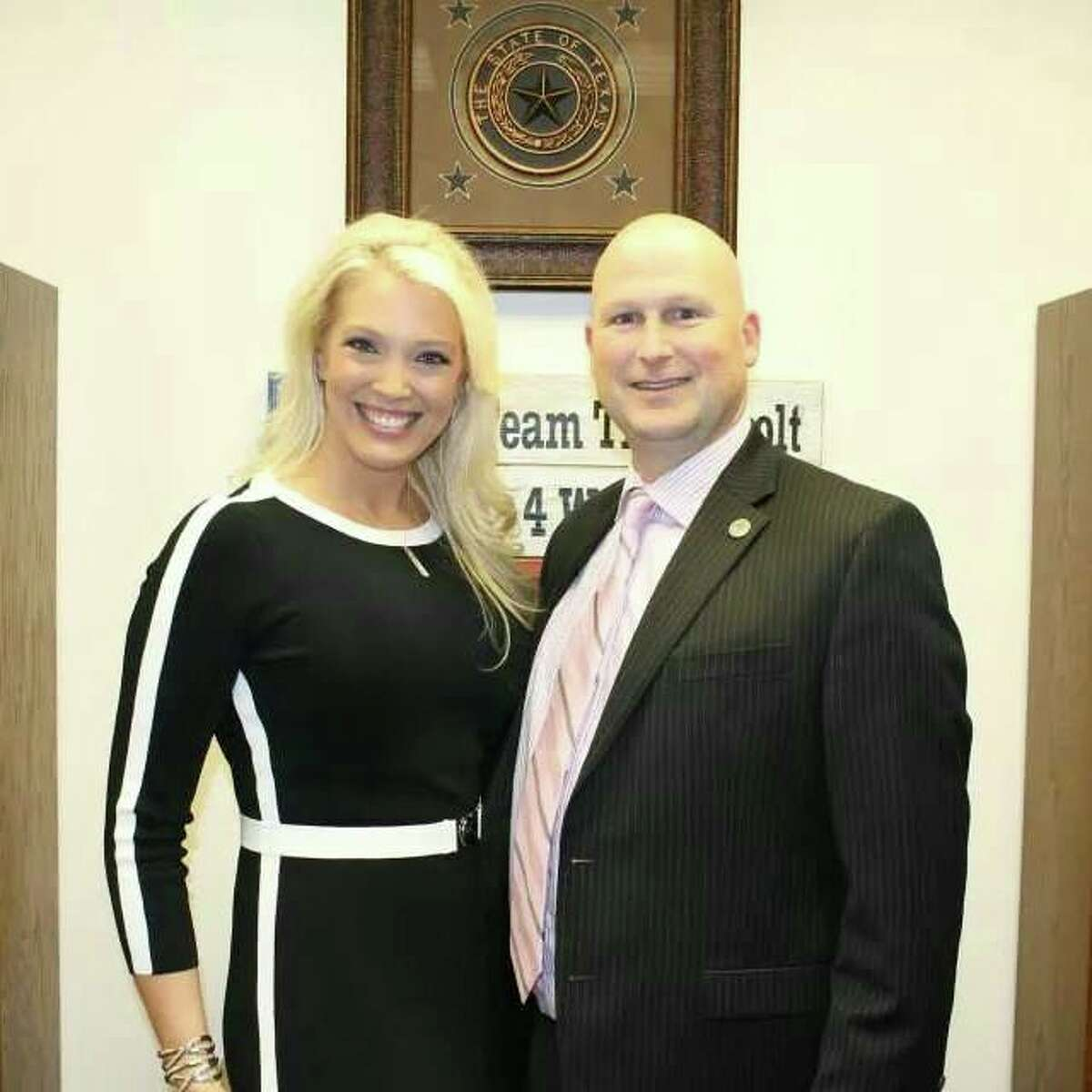 Tony Tinderholt (right) is serving his first term as a state representative from Arlington, Texas.PHOTOS: A timeline of gay marriage in Texas ...