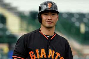 Giants' lineup experimenting begins with Nori Aoki leading off - Photo