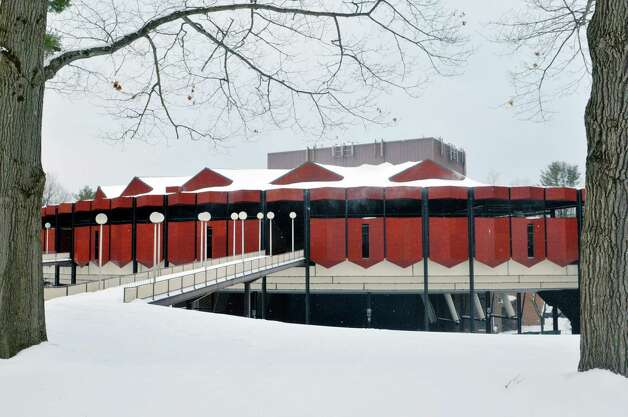 A view of Saratoga Performing Arts Center at Saratoga Spa State Park on Monday, March 2, 2015, in Saratoga Springs, N.Y.  Spa State Park and SPAC will see improvements through funding in the $900 million NY Parks 2020 plan.  (Paul Buckowski / Times Union) Photo: PAUL BUCKOWSKI / 00030803A