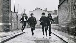 "The Beatles in ""A Hard Day's Night"""