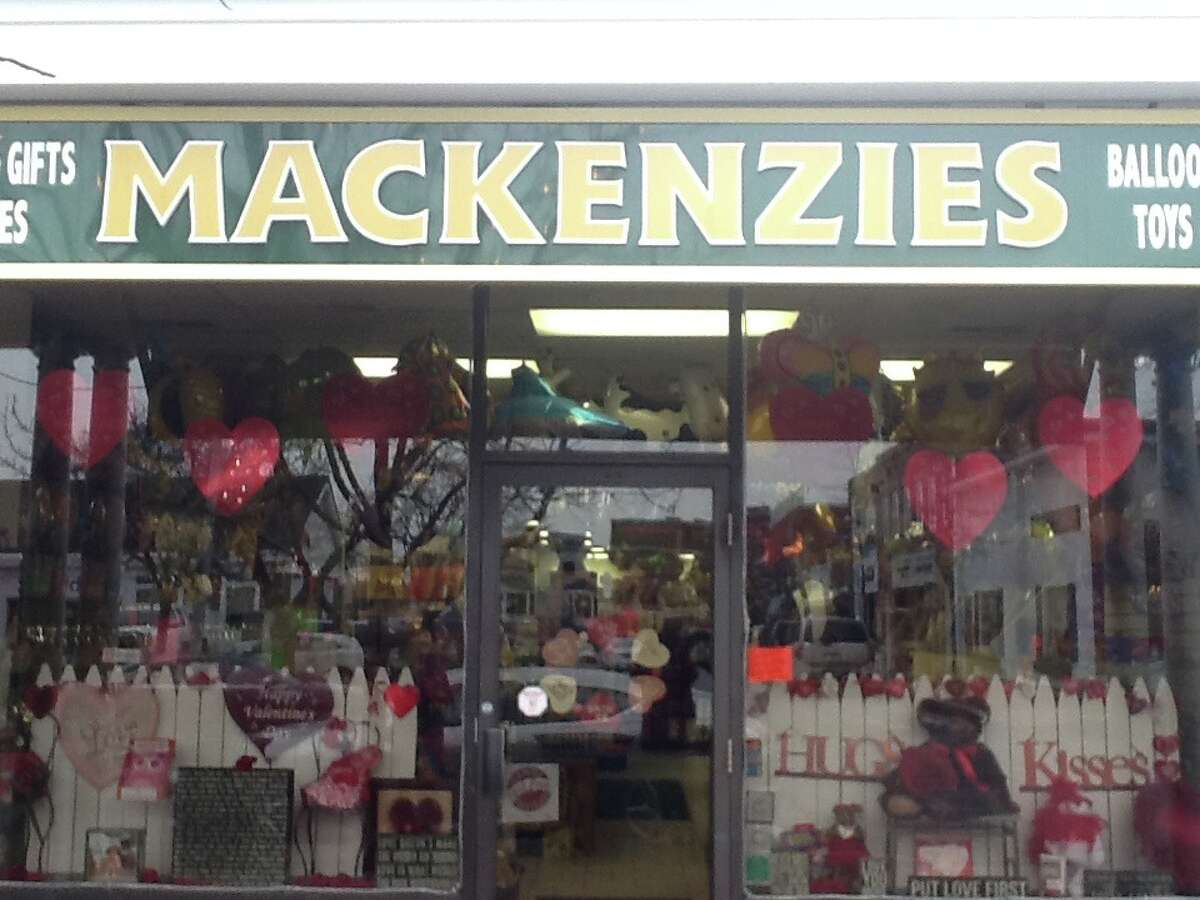 A stock photo of Mackenzies store in New Canaan.