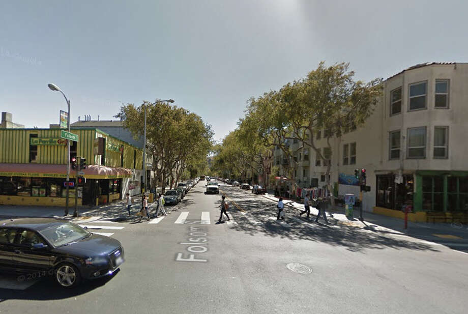 Amilcar Perez-Lopez was shot dead by two San Francisco plainclothes police officers near 24th and Folsom streets last Thursday. Photo: Google Maps