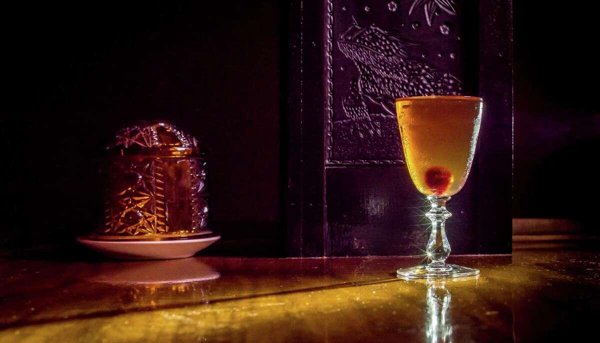 The Louisiane cocktail at Holy Mountain.