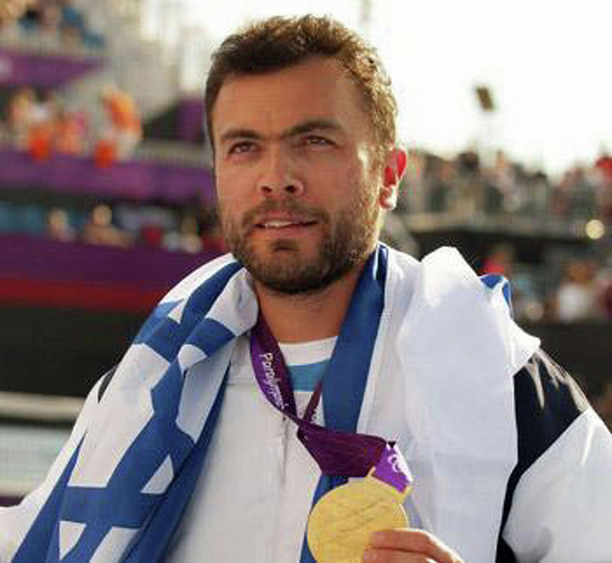 Paralympic Gold Medalist Pilot Noam Gershoni will speak at 7 p.m. Tuesday at the Temple Sholom, 300 East Putnam Ave. To RSVP, call 203-869-7191 or visit www.templesholom.com. For more information, call Alice Schoen at 203-542-7165 or email her at alice.schoen@templesholom.com.