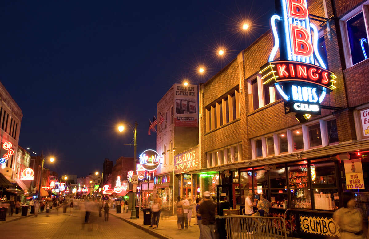 2016's Fattest Cities in America  1. Memphis, TN-MS-AR - 76.97%