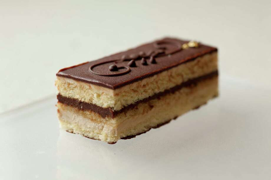 Opera cake Photo: Keith Ferris, Courtesy Photo / © 2011 Keith Ferris/The Culinary Institute of America