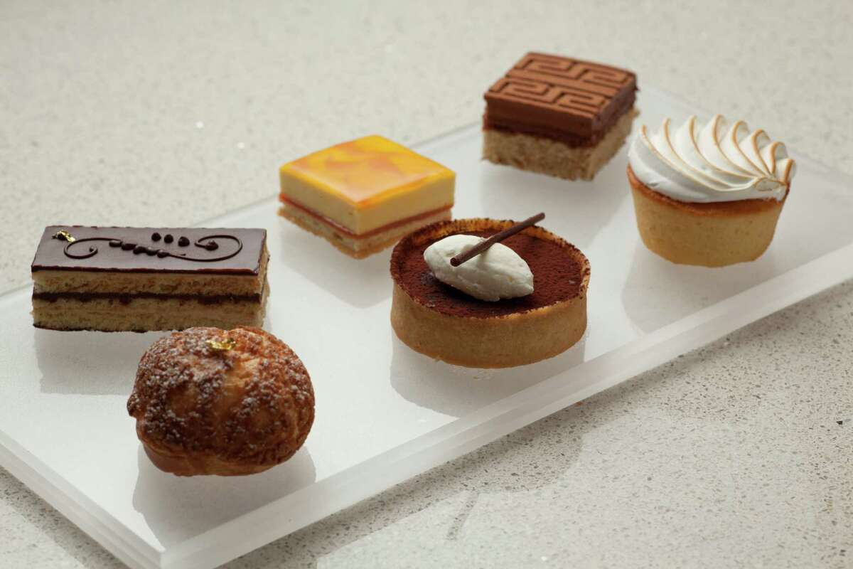 Some of the specialty baked goods from the CIA Bakery Café