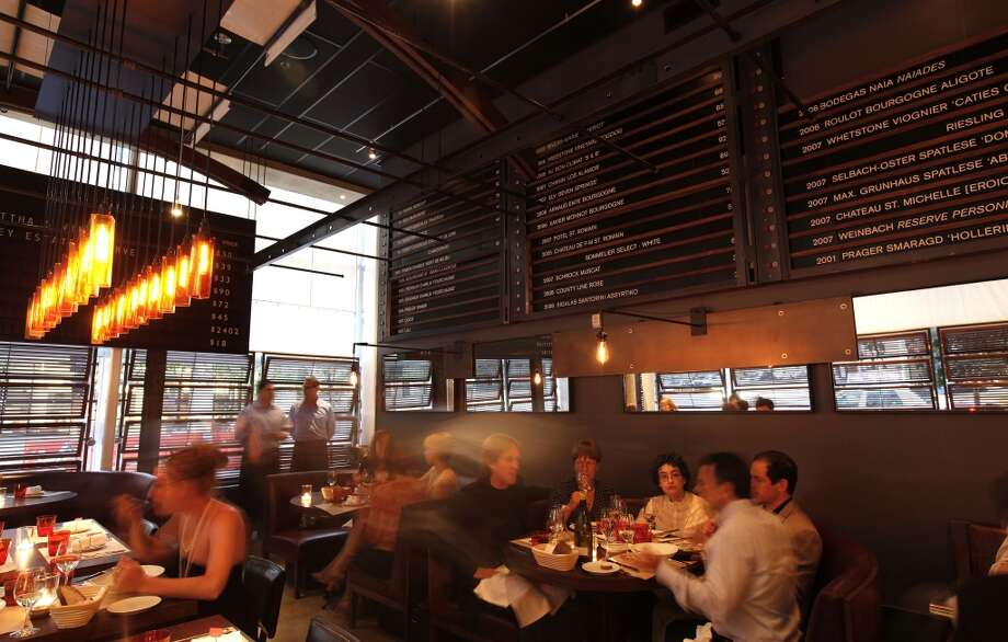 RN74, Michael Mina's wine-centric ode to France that is closing in the coming weeks. Photo: Michael Macor, The Chronicle