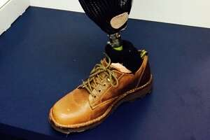 S.F. police looking for owner of abandoned prosthetic leg - Photo