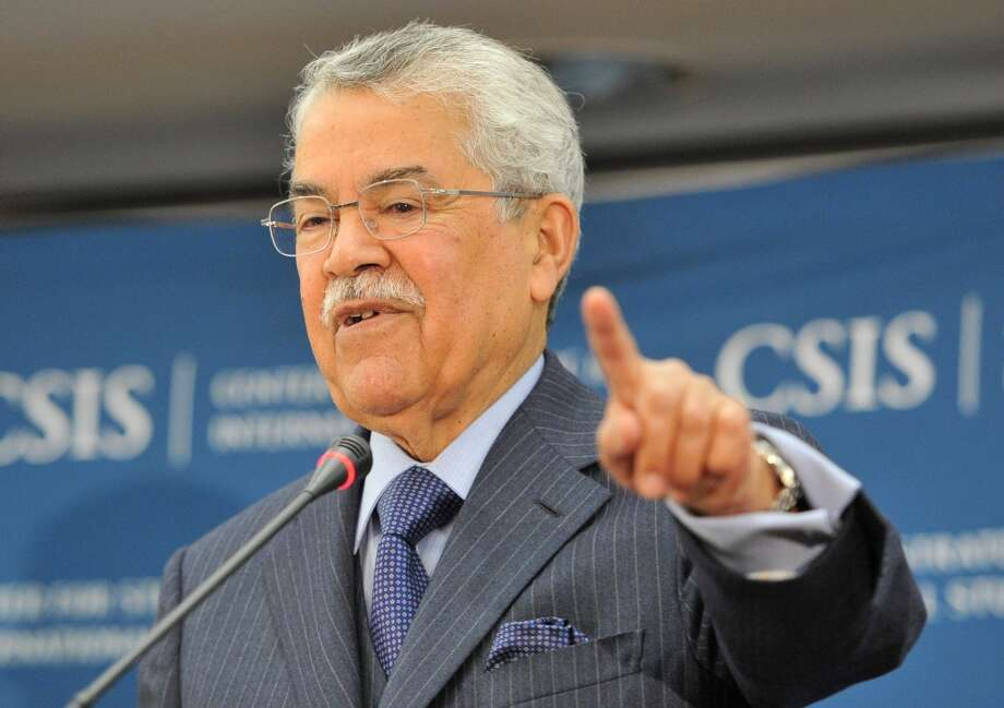 """Saudi Oil Minister Ali Al-Naimi blamed the global price fall on a """"lack of cooperation by main producing countries outside OPEC, misleading information and speculators' greed."""" Photo: MLADEN ANTONOV, AFP/Getty Images"""