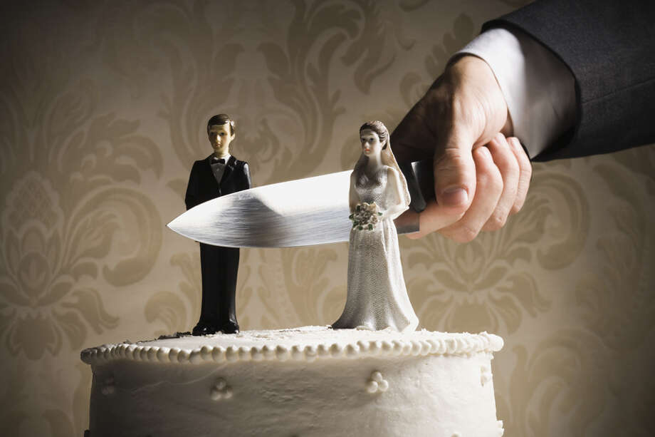 16 surprising facts about divorce in America(Source: CreditDonkey report based on numbers from Centers for Disease Control, U.S. Census Bureau, American Academy of Matrimonial Lawyers and the American Sociological Association.) Photo: Rubberball/Mike Kemp, Getty Images / Brand X