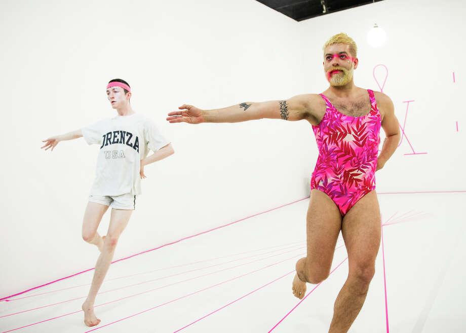 "New York choreographer Miguel Gutierrez (right) returns to S.F. with ""Age & Beauty Part 1,"" with Mickey Mahar. Photo: Ian Douglas / Ian Douglas / ONLINE_YES"